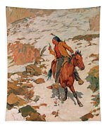 In Hot Pursuit Tapestry