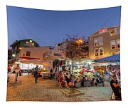 Istanbul At Night Tapestry