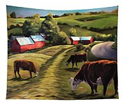 Jenne Farm In Reading Vermont Tapestry
