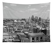 Kansas City Skyline Tapestry