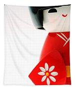 Kokeshi Doll Tapestry