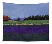 Lavender Farm Tapestry
