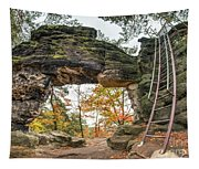 Little Pravcice Gate - Famous Natural Sandstone Arch Tapestry