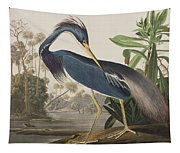 Louisiana Heron  Tapestry