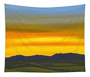 Luminescent Sunrise Tapestry