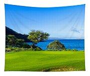 Makena Golf Course In Makena Area Tapestry