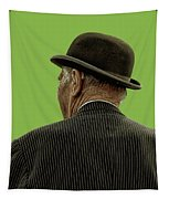 Man With A Bowler Hat Tapestry
