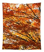 Maple Tree Foliage Tapestry