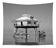 Mobile Bay Lighthouse Tapestry