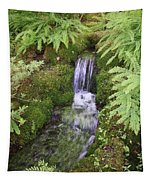 Mossy Waterfall Tapestry