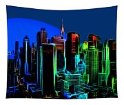 New York Colors Tapestry