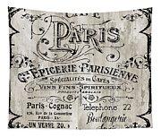 Paris Bistro  Tapestry
