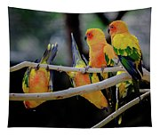 Parrots Tapestry
