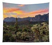 Pastel Desert Skies  Tapestry