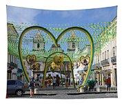 Pelourinho - The Historic Center Of Salvador Tapestry