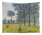 Poplars In The Sunlight Tapestry