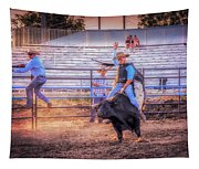 Rodeo Rider Tapestry
