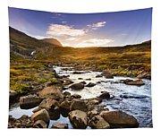 Seydisfjordur Fjord Valley Tapestry