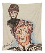Sir Paul Mccartney Tapestry