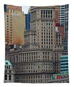 Skyline Of Manhattan - New York City Tapestry