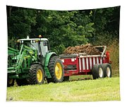 Spreading Manure Tapestry