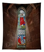 Stained Glass Window Tapestry
