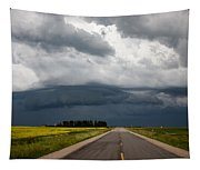 Storm Clouds Prairie Sky Tapestry