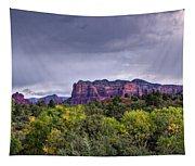 Storm Over Sedona  Tapestry