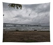 Straits Of Mackinac Tapestry