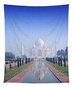 Taj Mahal View Tapestry