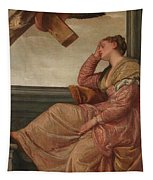 The Dream Of Saint Helena Tapestry