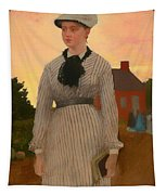 The Red School House Tapestry