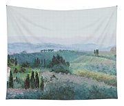 The Rolling Hills Of Tuscany Tapestry