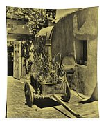 The Wooden Cart Tapestry