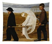 The Wounded Angel Tapestry