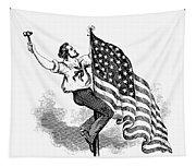 U.s. Flag, 19th Century Tapestry