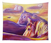 Horse World Tapestry