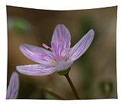 White Flower Tapestry