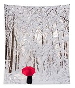 Winter Walk Tapestry