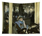 Women On A Cafe Terrace Tapestry