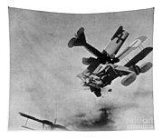 World War I: Aerial Combat Tapestry