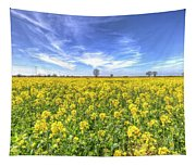 Yellow Fields Of Summer Tapestry