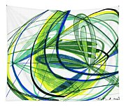 2007 Abstract Drawing 4 Tapestry