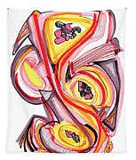 2010 Abstract Drawing Nine Tapestry
