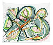 2010 Abstract Drawing Seventeen Tapestry