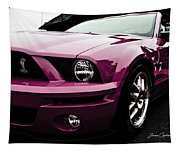 2010 Pink Ford Cobra Mustang Gt 500 Tapestry