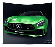 2017 Mercedes Amg Gt R Coupe Sports Car Tapestry