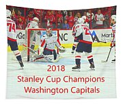 2018 Stanley Cup Champions Washington Capitals Tapestry
