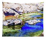 #211 South Yuba River Tapestry