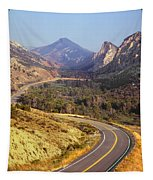 212308 Road To Sheep Creek Canyon Tapestry